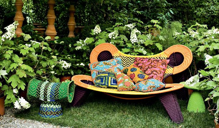 sofa madame dakar no jardim