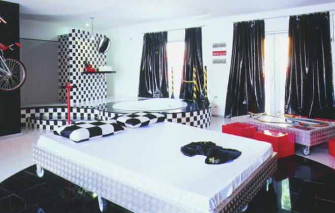 cama suite pit stop