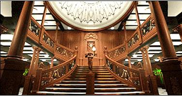 escadaria em madeira