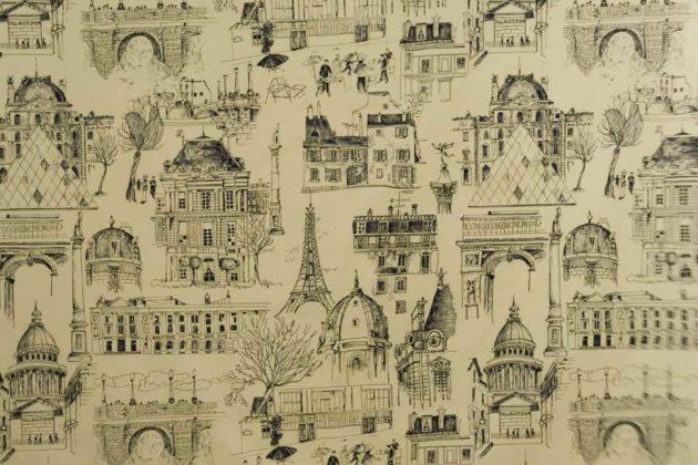 Toile de Jouy Paris da Again Tecidos.