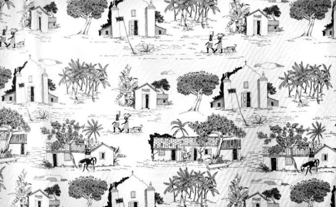 Toile de Jouy Arraial d'ajuda da Again Tecidos