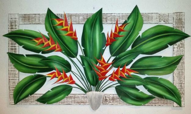 Achados da Conexão na estrada de Angra: Rafael Santos artista plástico