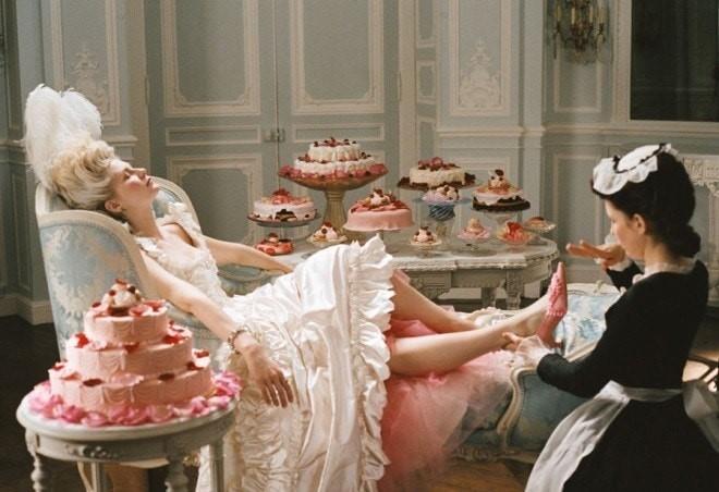 Cena do filme Maria Antonieta.