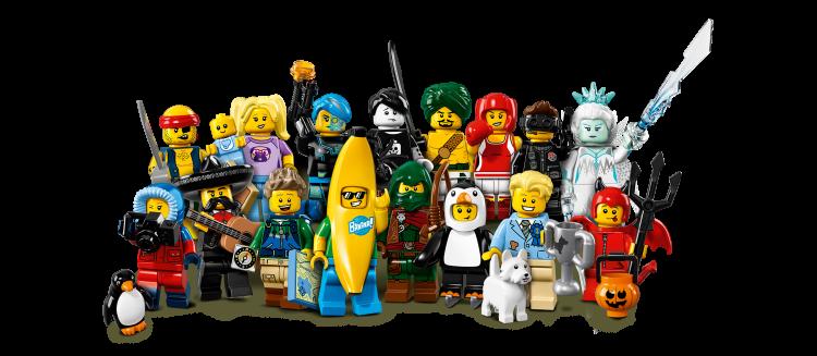 Super-heróis de Lego