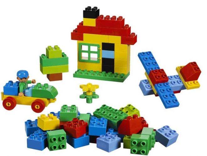 Peças básicas de Lego