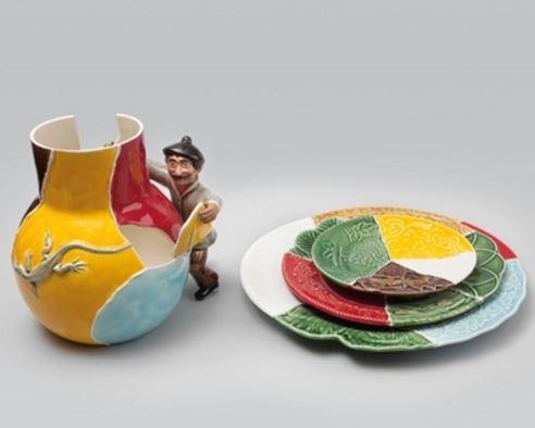 """""""Colador de Cacos"""", por Vik Muniz"""