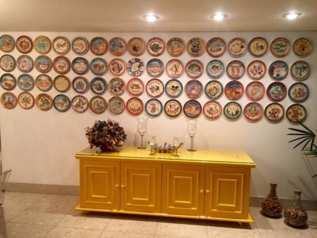 Coleção dos pratos da Boa Lembrança