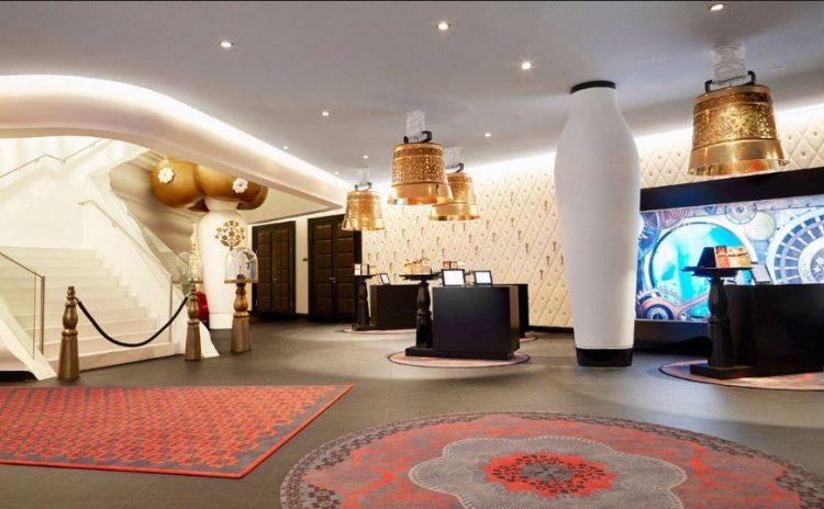 Grand Zurich Hotel, por Marcel Wanders