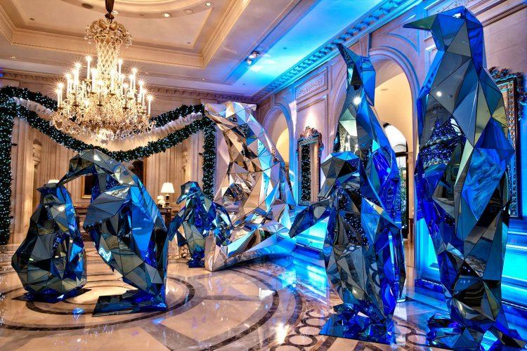 A decoração de Natal de Jeff Leatham para o Hotel George V, em Paris
