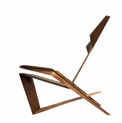 Poltrona Origami de Tiago Curioni