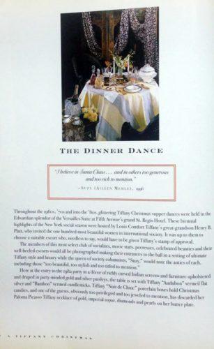 The Dinner dance