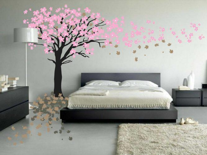 arvore florida para colorir o quarto