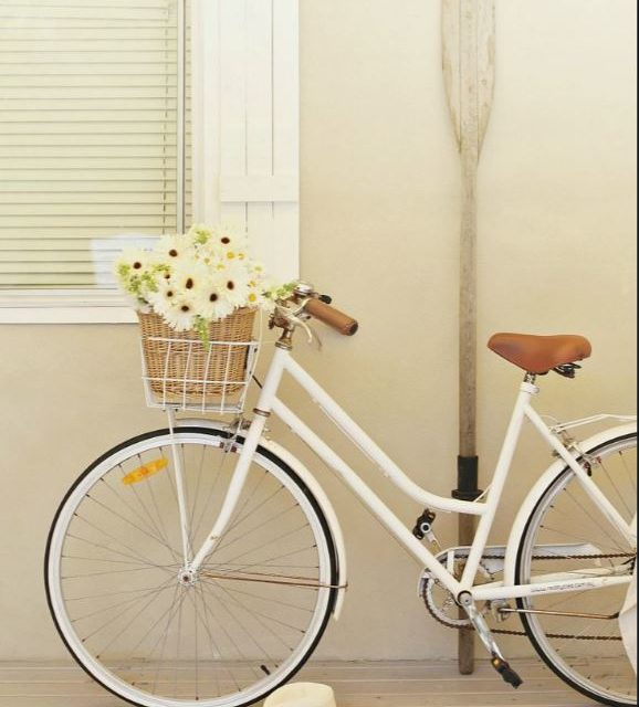 Bike, cada vez mais, incorporada na decoração.