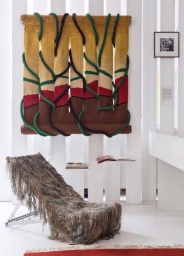 Tapeçaria escultural de Norberto Nicola