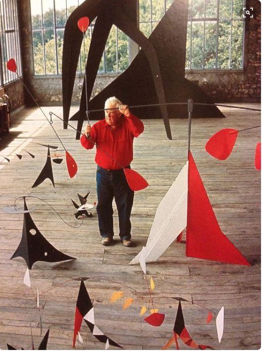 mobile Instalação de Alexander Calder