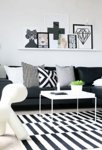 sofa preto