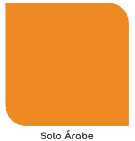 Tom de laranja , Solo Arábe, da Coral Tintas.