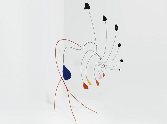 La Demoiselle, de Alexander Calder mobile