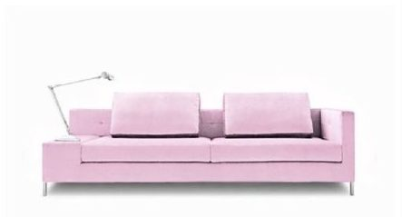 Sofa colorido da Carbono Design