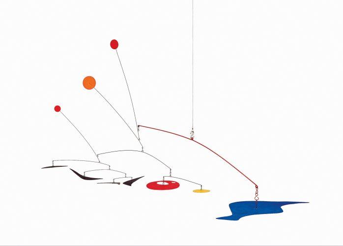 Quatro Bulmerangues, de Alexander Calder para o Museu de Arte Contemporânea em
