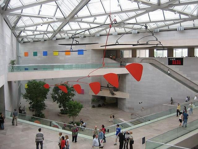 Instalação no Smithsonian National Gallery of Art em Washington