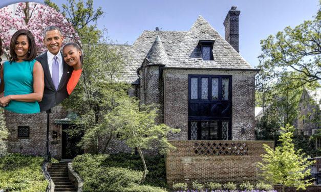 A nova e linda casa dos Obama.