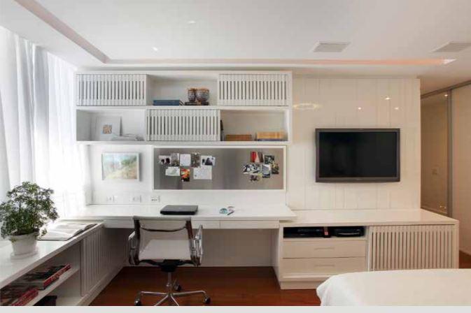 escritorio do canto de dormir