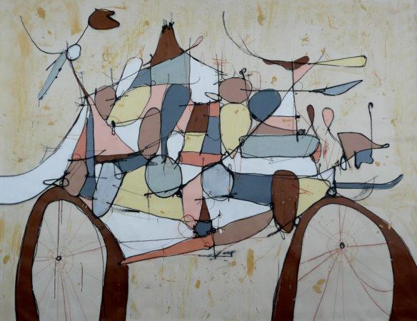 Bicicleta marrom, de Smael Vagner