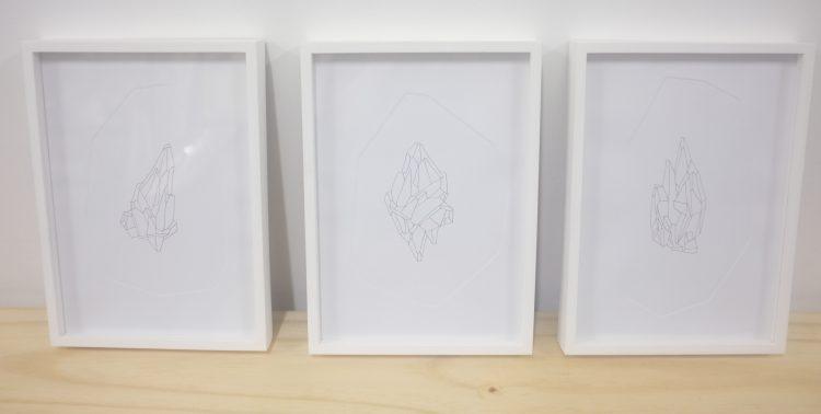 Amanda Mei, 2015 - Impressão e relevo seco sobre papel