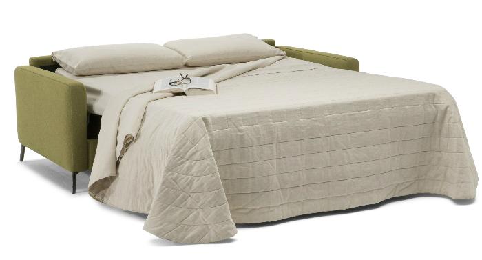 Sofa cama isacco da Natuzzi espaços pequenos