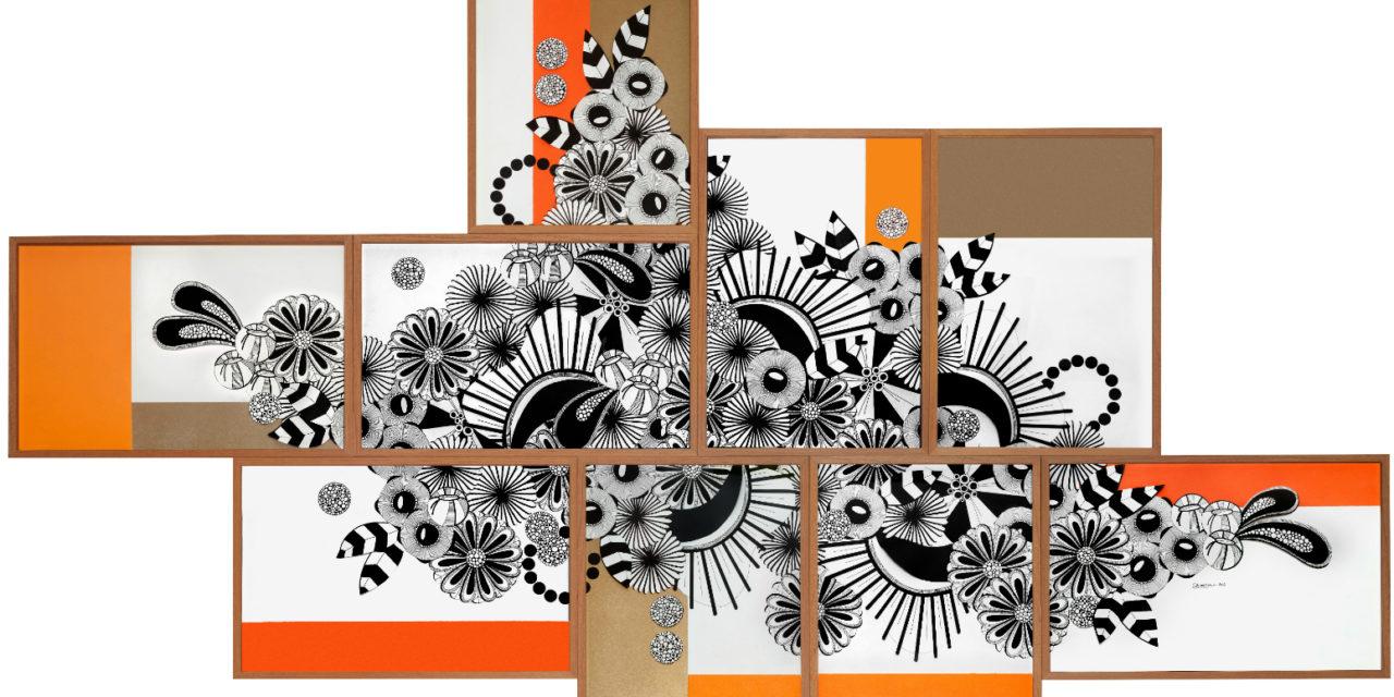 Conectadas com os desenhos envolventes de Ani Cuenca