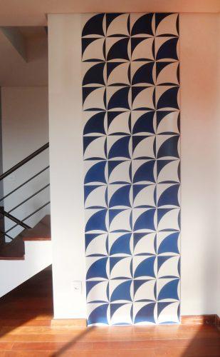 painel de barcos de Antonio Sampaio Doria