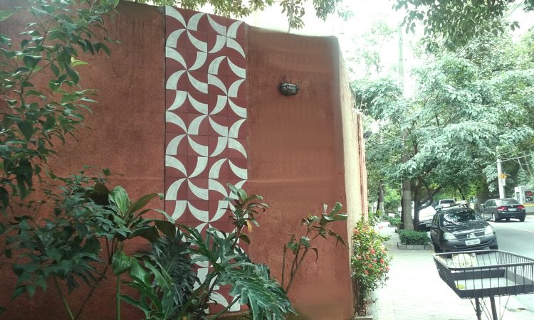 Painel da Rua Girassol de Antonio Sampaio Doria