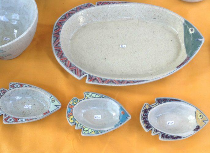 Tijelas de cerâmica na General Osório