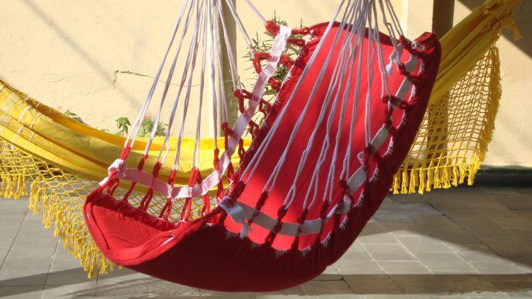 Cadeira e rede balanço