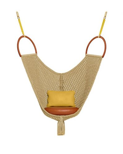 Swing Chair, de Patricia Urquiola balanço