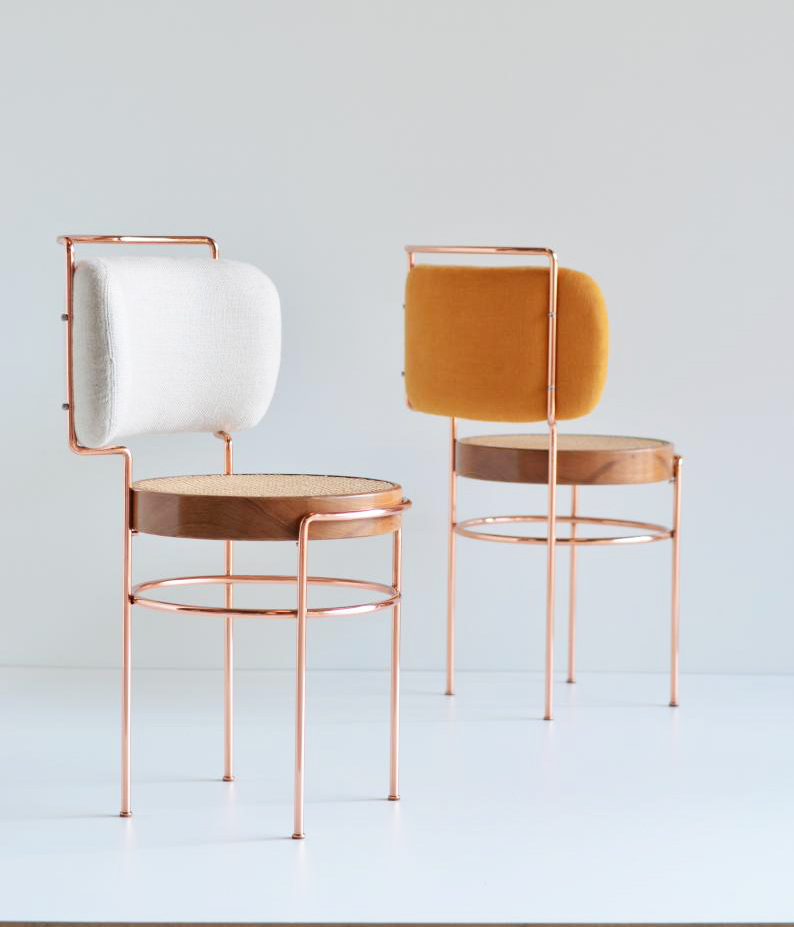 Cadeira Iaiá de Gustavo Bittencourt na Boobam