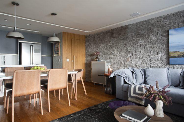 Sala do apartamento de Bianca da hora