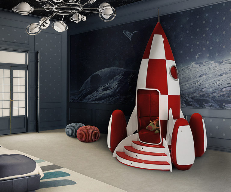 Móveis mágicos para quarto de criança .
