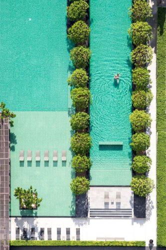 Piscina em Pattaya, Tailandia