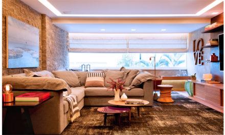 Um apartamento contemporâneo com muita personalidade!