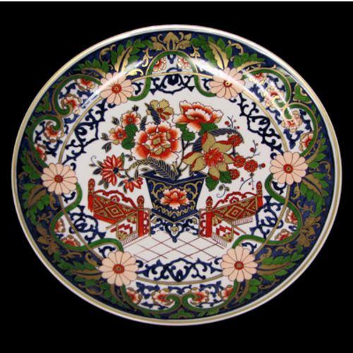 Porcelanas pintadas de Maria Augusta Rebouças