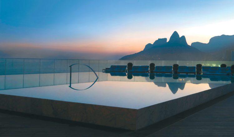 Piscina do Hotel Fasano no Rio de Janeiro