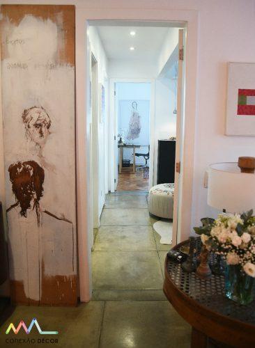 corredor da casa de rudy meirelles foto de ari kaye conexao decor