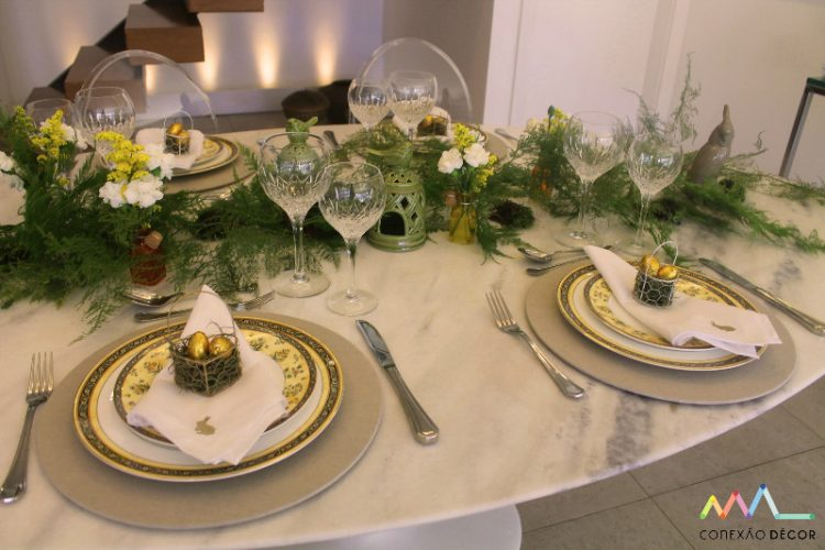 6 mesas de Páscoa para você se inspirar
