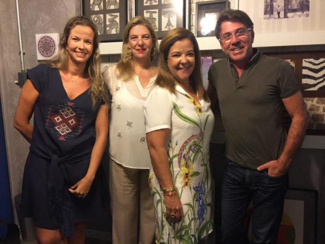 Marilia, Celina, Liliane e Jairo de Sender