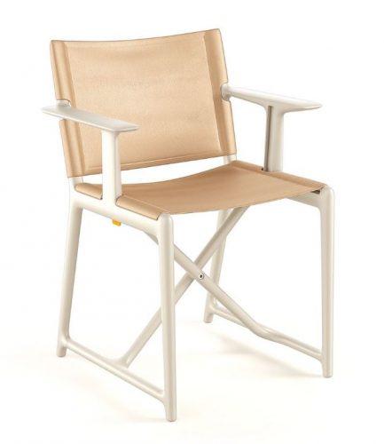 Cadeira Dobrável Stanley, do mago Phillipe Starck para Magis