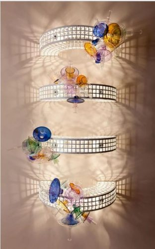 Trelis, luminária de Bethan Laura Wood para Nilufar