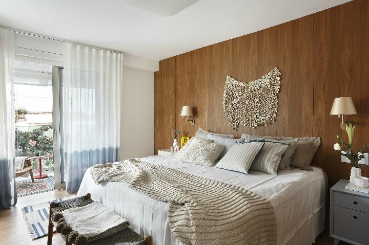 suite do apartamento do edifico diamante azul projetado por roberto devisate
