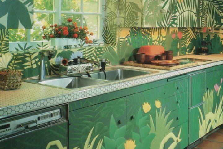 armarios de cozinha pintados